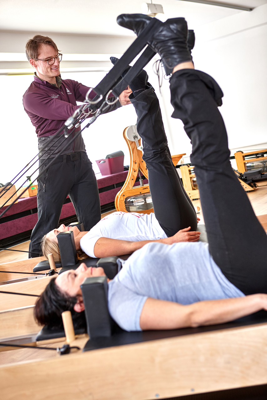 Pilates-Studio Studiobetrieb