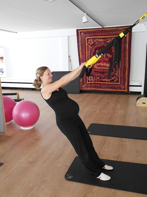 Schwangerschafts-Pilates